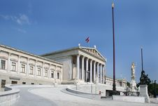 Free Austrian Parliament Building Stock Photos - 6468253