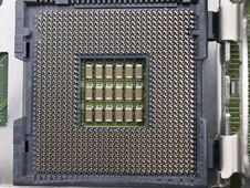 Free Computer CPU Seat On Motherboard Stock Photo - 6468420