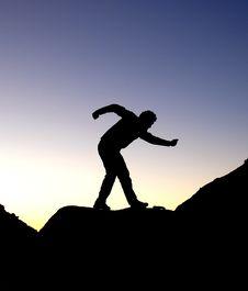 Free Running Man Stock Image - 6468511