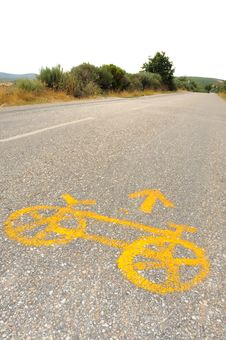 Free Bicycle On The Road No.1 Stock Image - 6468891