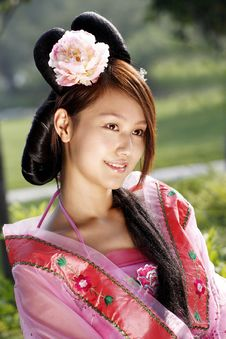 Free Classical Beauty In China. Stock Photo - 6469280