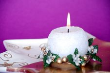 Candle1 Stock Photography