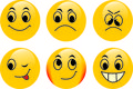 Free Vector Emoticons Royalty Free Stock Photos - 6475118