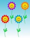 Free Smiling Flowers Stock Photo - 6476490