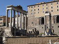 Free Ruins Of An Ancient Roman Forum Stock Photography - 6479992