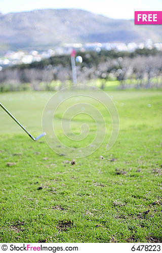 Free Golfer In Action Stock Photos - 6478223
