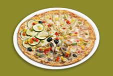 Free Hot Pizza Royalty Free Stock Photos - 6470288