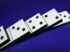 Free Dominoes Royalty Free Stock Photography - 6470347