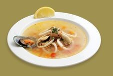 Free Seafood Soup Stock Photo - 6470540