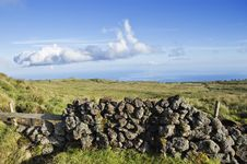 Free Pasture Landscape Of Pico Island, Azores Stock Image - 6470921