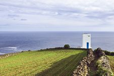 Whale Watch Tower In Pico, Azores Royalty Free Stock Photo