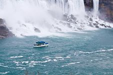 Free Boat Near Niagara Stock Photos - 6472093
