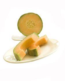Free Cantaloupe Melon Royalty Free Stock Photo - 6472735