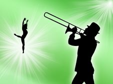 Free Player And Dancer Stock Images - 6472804