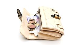 Free Purse Full Of Money Royalty Free Stock Photography - 6472857