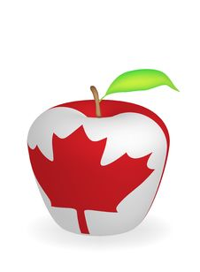 Free Apple Flag Royalty Free Stock Photography - 6472887