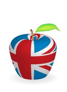 Free Apple Flag Royalty Free Stock Photo - 6472895