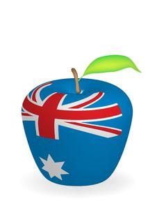 Free Apple Flag Royalty Free Stock Photos - 6472898
