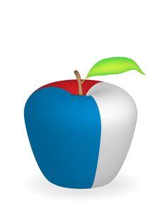 Free Apple Flag Royalty Free Stock Photo - 6472905