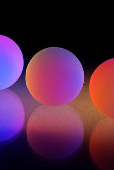 Free Stylish Colorful Balls Stock Photo - 6472940