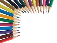 Free Assortment Of Colored Pencils Stock Images - 6472994