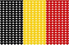 Free Belgium Heart Flag Royalty Free Stock Photo - 6473275