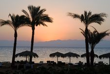 Free Sunrise On A Beach Stock Photography - 6474012