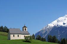 Swiss Landscape Royalty Free Stock Image