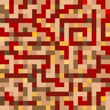 Free Red Mosaic Stock Image - 6474891