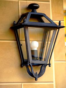 Free Lamp On A Wall Stock Image - 6475511