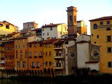Free Buildings On Arno Riverside Stock Image - 6475581