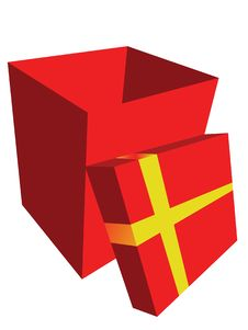 Free Red Gift Box Royalty Free Stock Photo - 6475585
