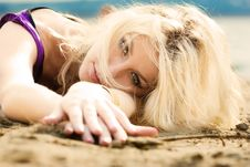 Free On The Beach 3 Royalty Free Stock Images - 6475819