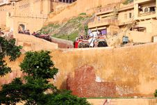 Free Amber Fort Stock Photo - 6476100