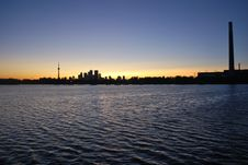 Free Toronto Skyline Royalty Free Stock Photography - 6476197
