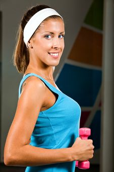 Free I Like Fitness Stock Photography - 6477342