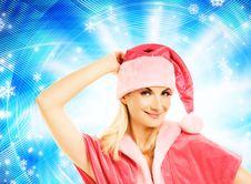 Free Beautiful Mrs. Santa Royalty Free Stock Photography - 6477407