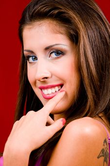 Free Classical Portrait Of Attractive Young Woman Royalty Free Stock Photo - 6477525