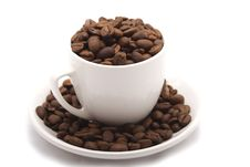 Free Cup With Grain Coffee Royalty Free Stock Photo - 6477925