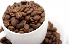 Free Cup With Grain Coffee Stock Photography - 6478102