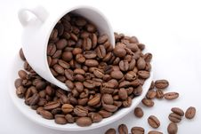 Free Cup With Grain Coffee Royalty Free Stock Image - 6478236