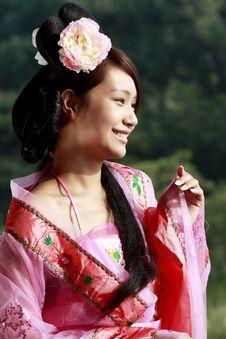 Free Retro Beauty In China. Stock Photos - 6478743