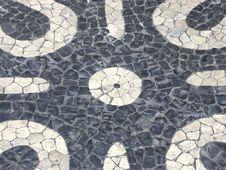 Free Portuguese Cobblestone Handmade Pavement Stock Images - 6478794