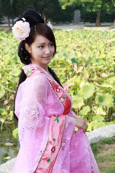 Free Retro Beauty In China. Stock Photo - 6479550