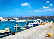 Free Harbor Of Fisherman Village Stock Image - 6479791
