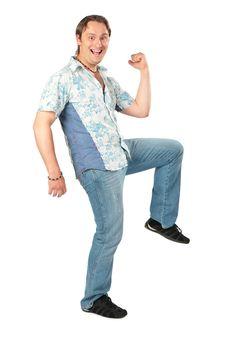 Free Young Man Posing Stock Image - 6479911