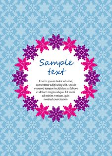 Free Ornamental Card Design Royalty Free Stock Images - 64712149