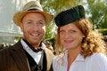 Free Couple In Fifties Retro Fashions Stock Photo - 6481570