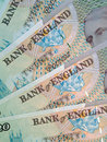 Free English Pound Notes Royalty Free Stock Image - 6485416
