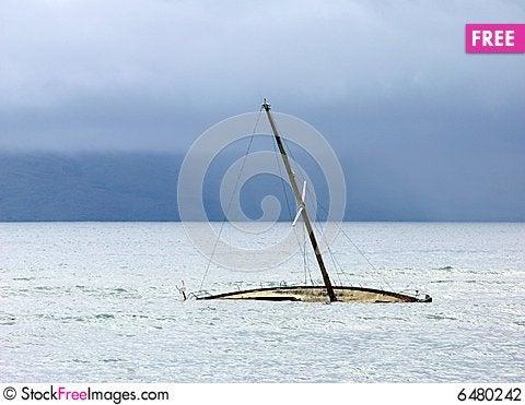 Free Sunken In Hawaii Stock Photography - 6480242